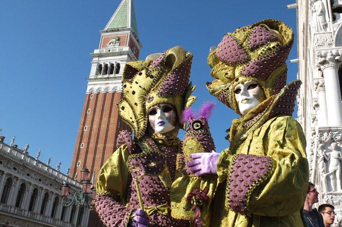 Карнавальные маски Венеции
