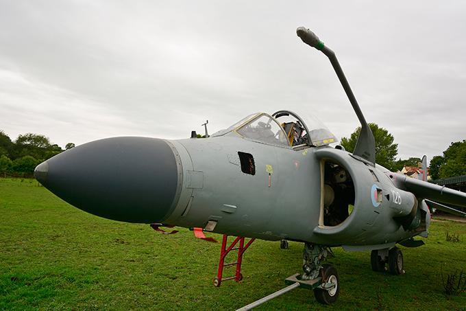 Истребитель Harrier времен Фолклендской войны