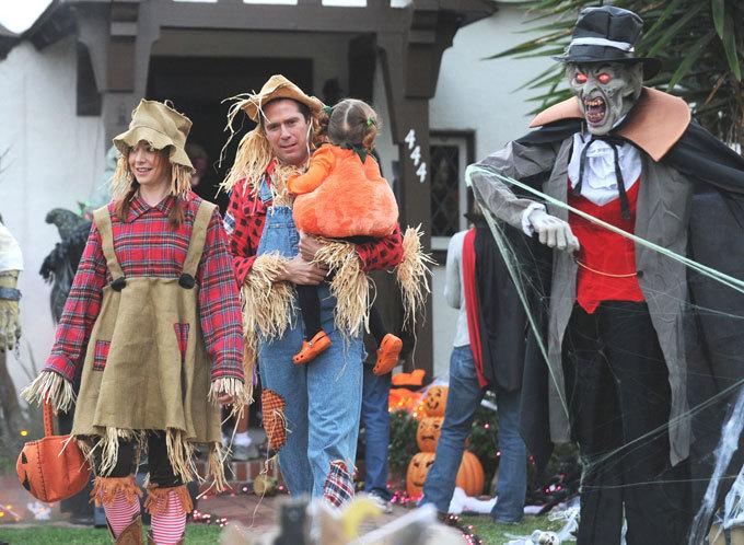 По следам Хэллоуина: праздник  в семейном кругу