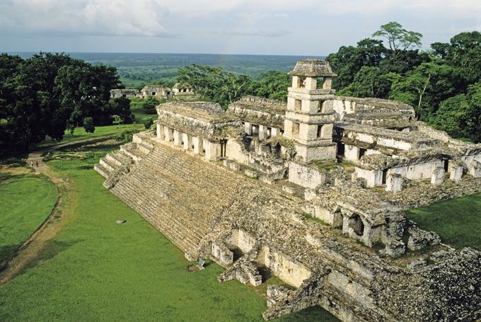 Храмы майя - русская матрешка