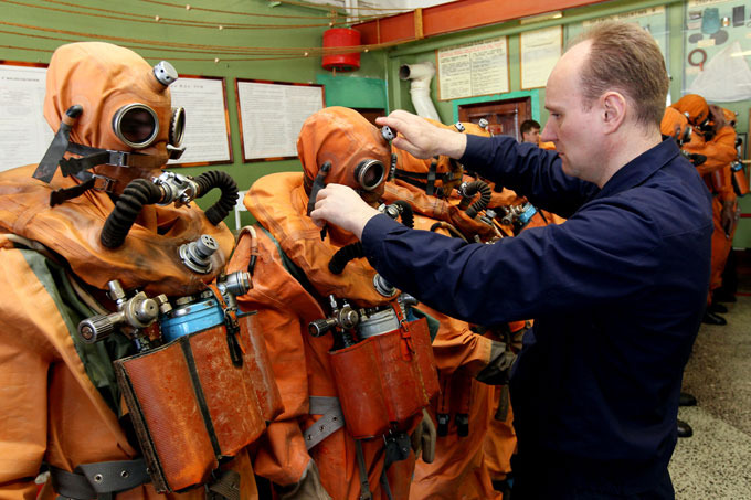 Витязи морских глубин. Подводники