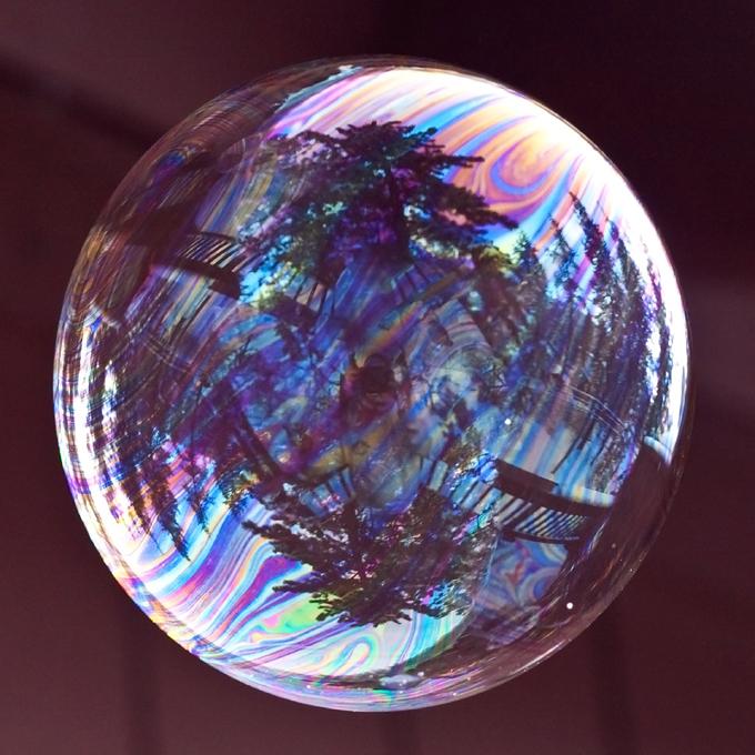 Мыльные пузыри - радость детства