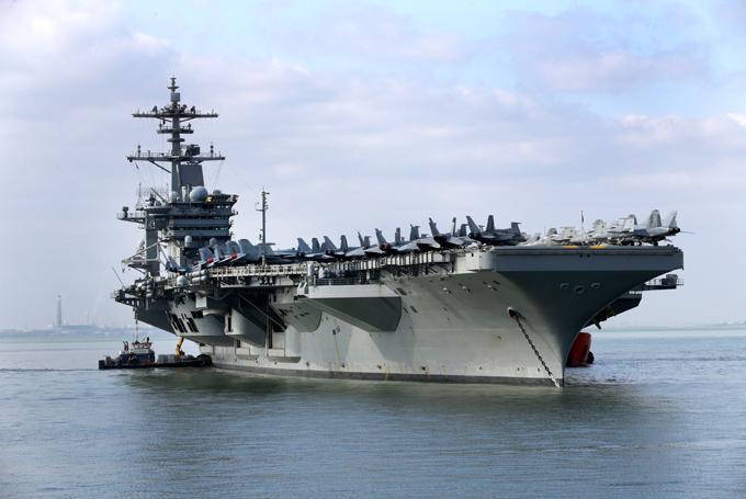 Самые мощные военно-морские силы в мире