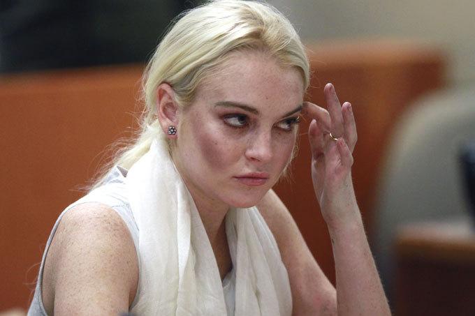 Линдси Лохан снова отправится за решетку