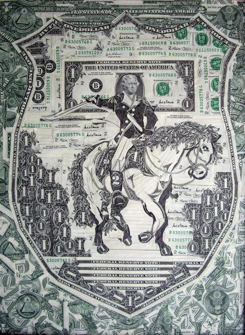 Искусство из денег