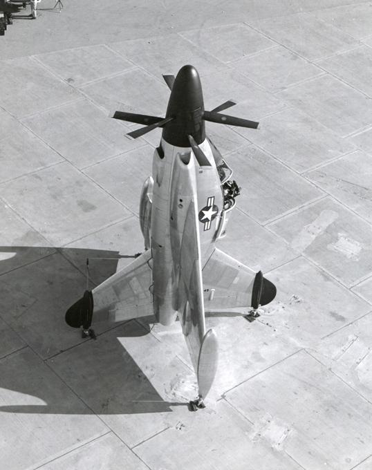 Пионер вертикального взлета