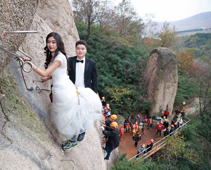 Очумелые свадьбы. На высоте