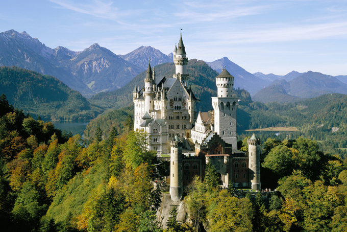 Жилища для привидений - средневековые замки