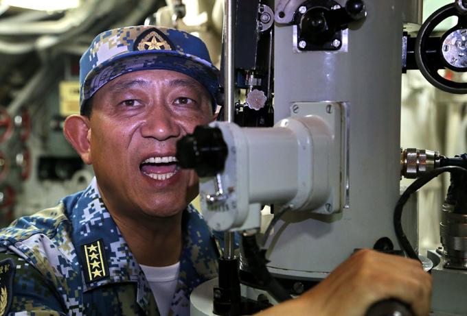 Подводный щит Китая