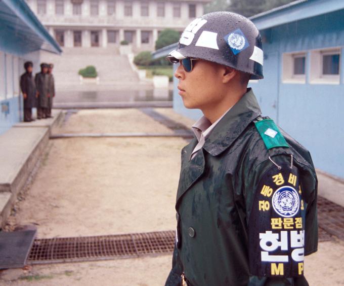 Демилитаризованная зона между Северной и Южной Кореей - самая военная в мире