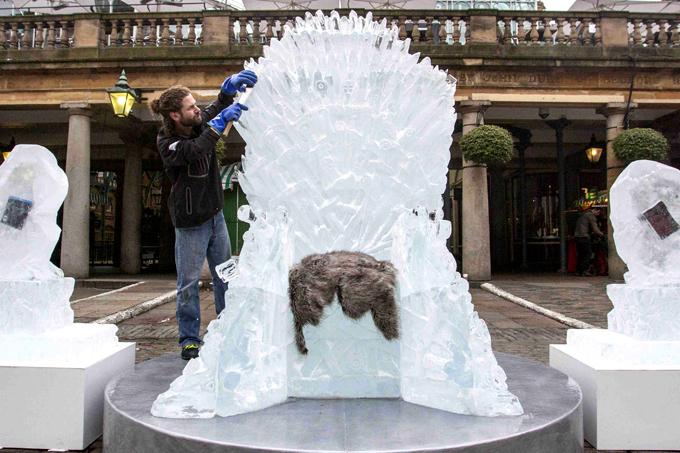 Интересное в мире: Ледяной трон