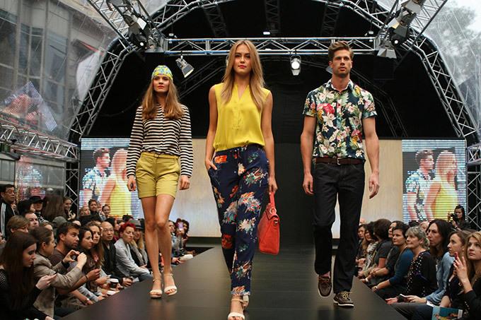 Модное шоу Sportscraft в Мельбурне