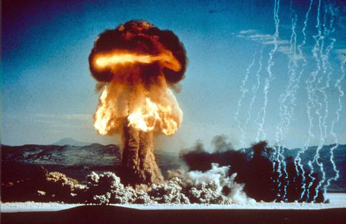 Как Америка испытывала ядерную бомбу