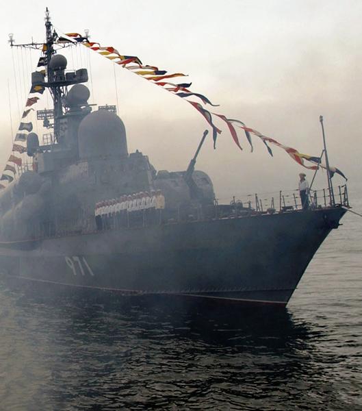 """Флагман Тихоокеанского флота """"Варяг"""""""