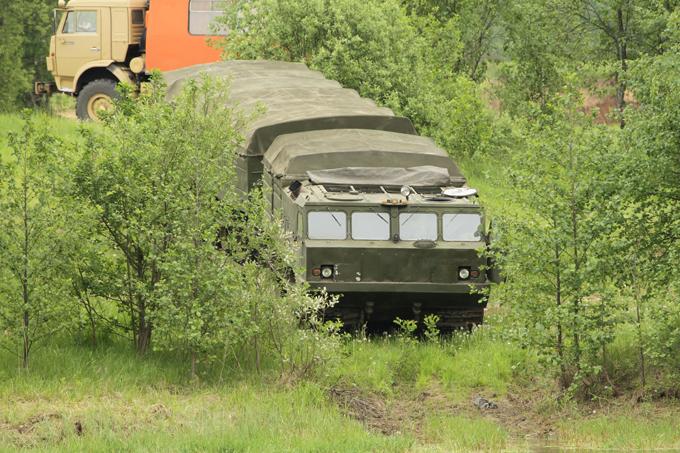 """""""Суперпроходимец"""" ДТ-30"""