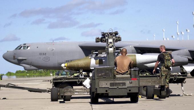 """Стратегический бомбардировщик В-52Н """"Стратофортресс"""""""