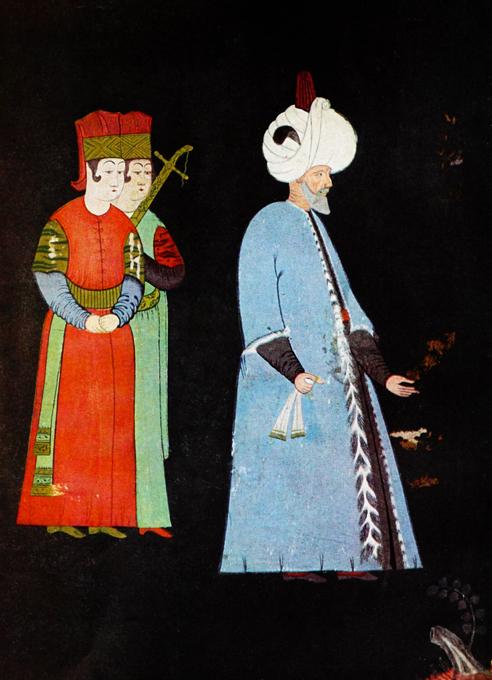 Султан Сулейман и его великолепный гарем
