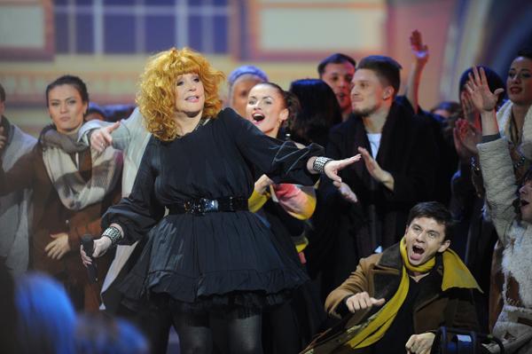 Алла Пугачева вернулась на сцену