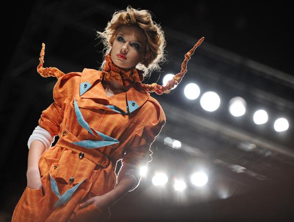 Неделя моды Mercedes-Benz Fashion Week в Москве