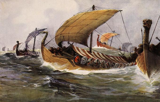 Куда исчезли викинги