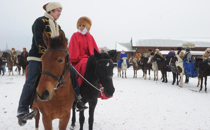 Русская зимняя охота