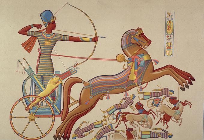 Армагеддоны былых веков. Египряне