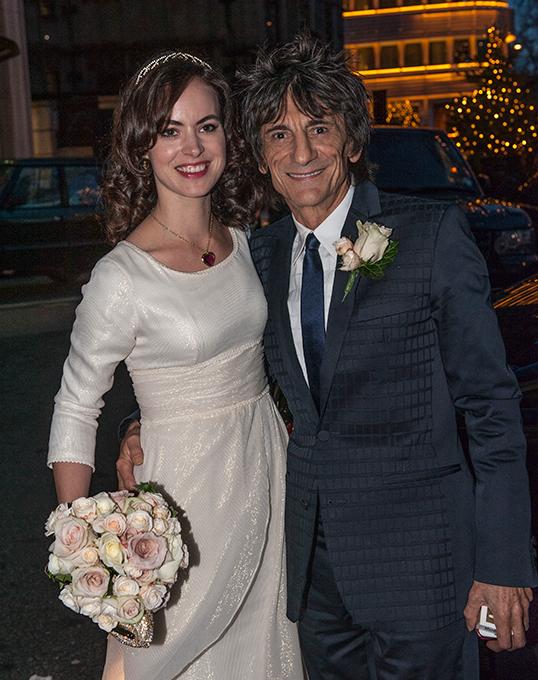 Ронни Вуд женился в третий раз