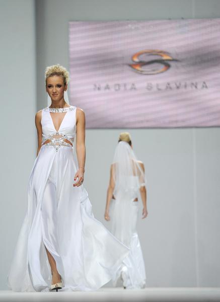 Показ свадебных нарядов Нади Славиной