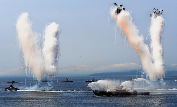 В России отметили День Военно-морского флота