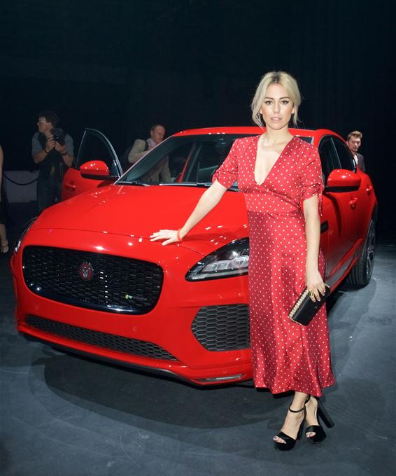 Новый кроссовер компании Jaguar