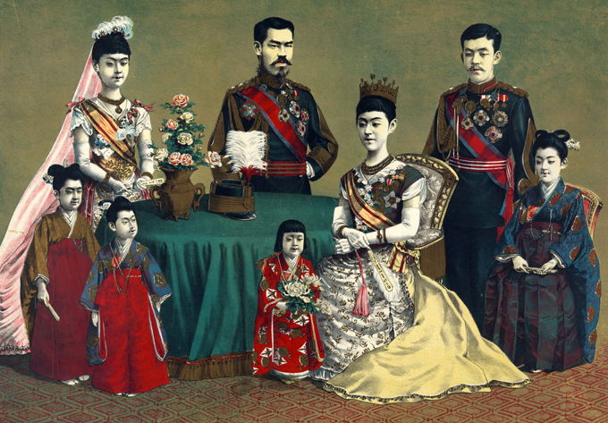 Семейные традиции японских императоров