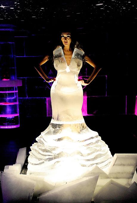 Платье из льда