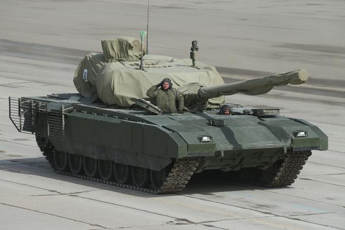 Новая военная техника украсит Парад Победы