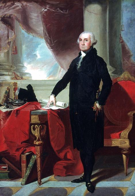 Как расползлись Рюриковичи. Джордж Вашингтон