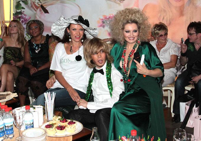 «Зеленая» вечеринка у Лениной