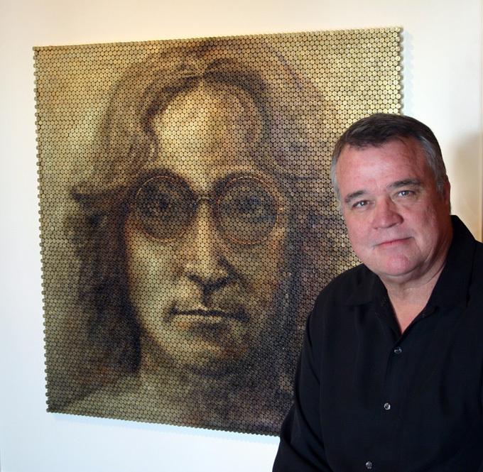 Дэвид Палмер: портреты из патронов