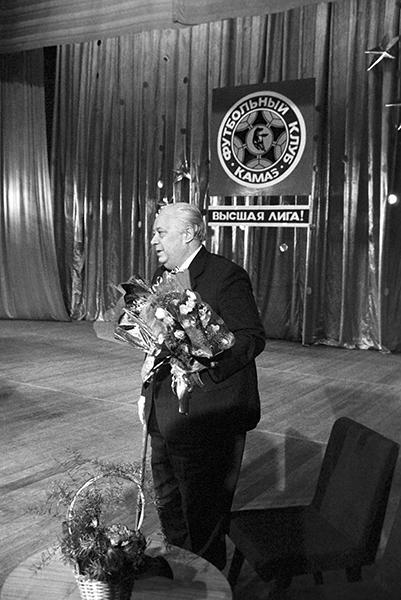 Россия вспоминает комментатора-легенду Николая Озерова
