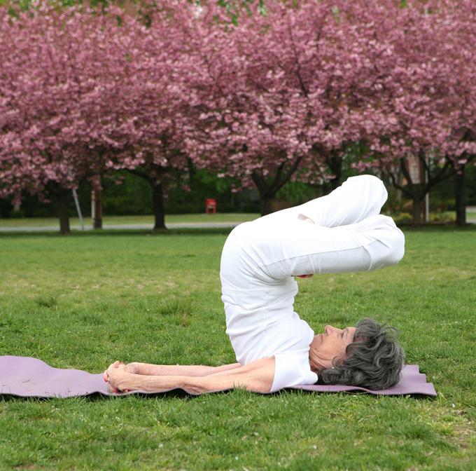 Чудеса от 92-летнего йога