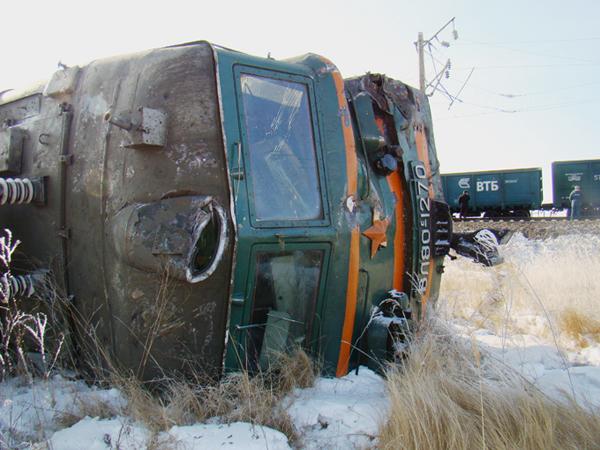 Авария на Транссибе блокировала движение поездов