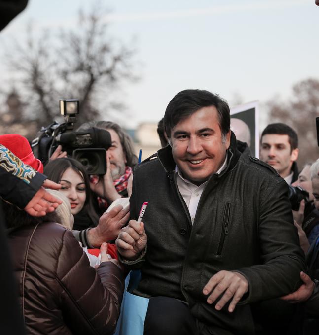 Проделки Саакашвили