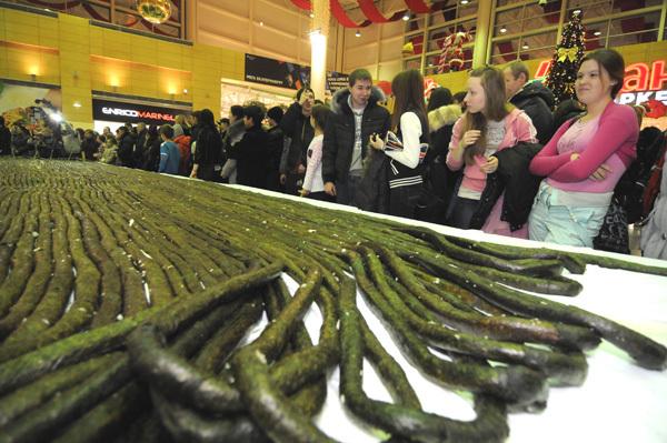 Самый длинный ролл в мире
