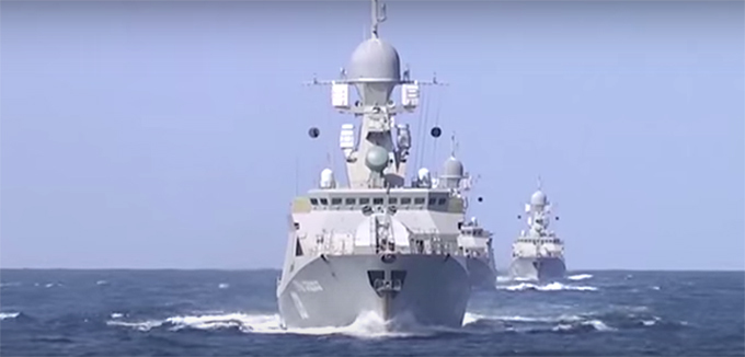 Крылатые ракеты ВМФ РФ поразили командные пункты ИГ в Сирии