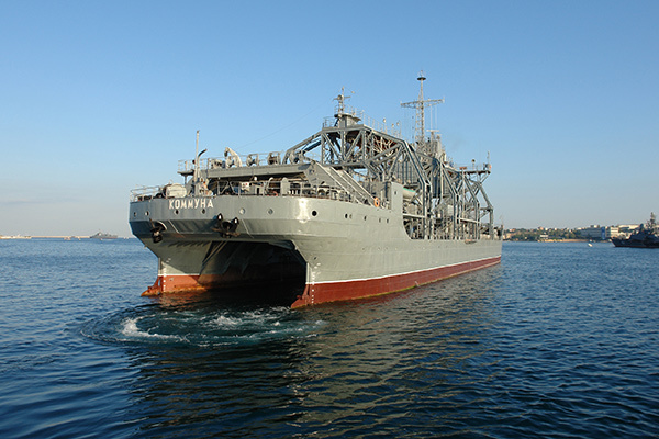 Старейший корабль Черноморского флота РФ