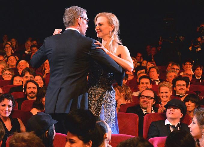 Николь Кидман танцует с Оливье Дааном. Первые красавицы Каннского фестиваля