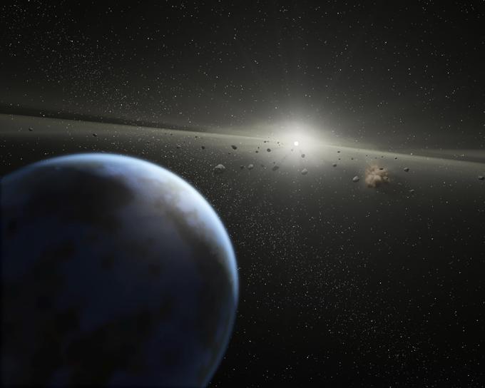 Жизнь на Землю занесли метеориты
