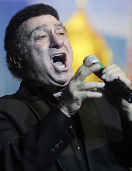 Знаменитый певец Зураб Соткилава празднует юбилей