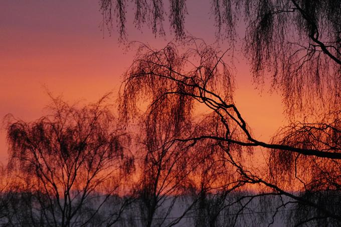Когда закат ярче рассвета. Любуйтесь!