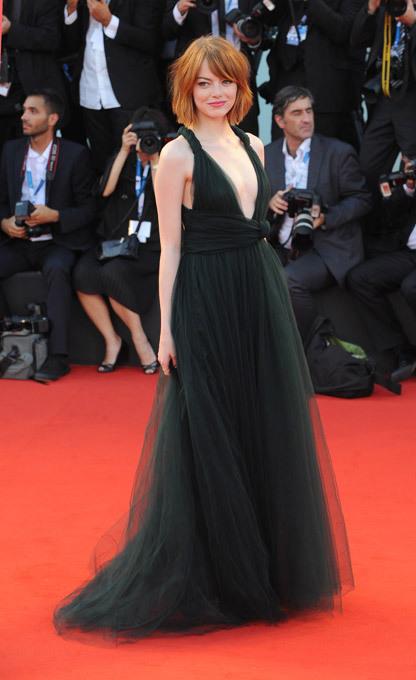 Самые элегантные женщины Венецианского кинофестиваля: Эмма Стоун