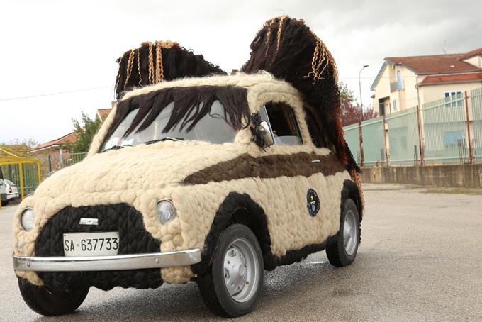Машина для парикмахера, или Волосатый автомобиль