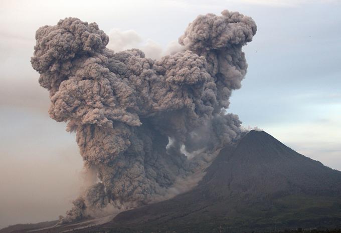 Суматра - царство пепла